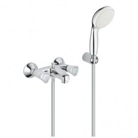 Grohe COSTA L - Mélangeur bain/douche avec ou sans set de douche