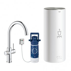 Grohe Red - Robinet + Chauffe-eau - Taille M/L