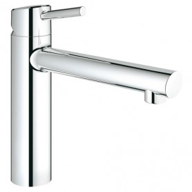 Grohe Concetto - Bec medium - Option douchette / mousseur