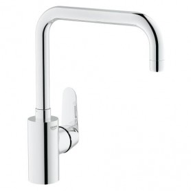 Grohe E.Disc Cosmopolitan - Mitigeur évier - Option mousseur