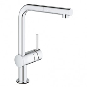 Grohe Minta Touch - Mitigeur évier - Bec L - Tactile