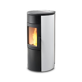 Ravelli – Natural 7 Glass - Poêle à Pellets 7 kw