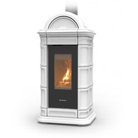 Thermorossi - Lienz Wood 8 HP - Poêle à Bois 8,5 Kw - Ventilation et Finition au choix