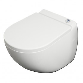 WC suspendu avec Broyeur Integré