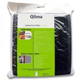 Filtres A45 (4 Pièces) pour Purificateur d'air A45 - Qlima