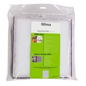 Filtres A25 (4 Pièces) pour Purificateur d'air A25 - Qlima