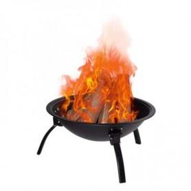 Brasero-Barbecue Qlima - FFGW4556 - Charbon ou Bois - Grille Bbq fournie