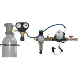 Adoucssieur d'eau - Solucalc 1 pouce - Fonctionne via Bonbonne CO2