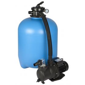 Système de filtration à sable ECO puissance au choix avec circulateur adapté