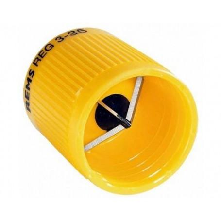 Rems ébavureur extérieur et intérieur pour tubes acier, cuivre, laiton, aluminium et plastique.
