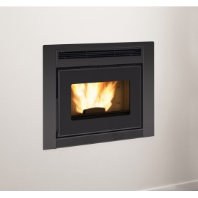 Insert thermo-cheminée à pellets Comfort Idro L80