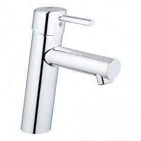 """CONCETTO -  Mitigeur monocommande 1/2"""" lavabo - Taille S ou M - avec ou sans vidage"""