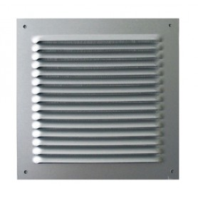 Grille d'aeration Carré INOX
