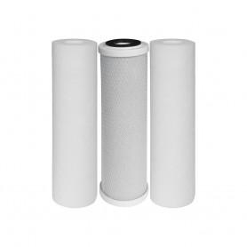 Kit de filtres à eau de ville et de pluie pour Triplex O'Pure